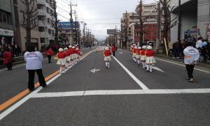 清新鼓笛隊、34月7日パレードのあと・・・